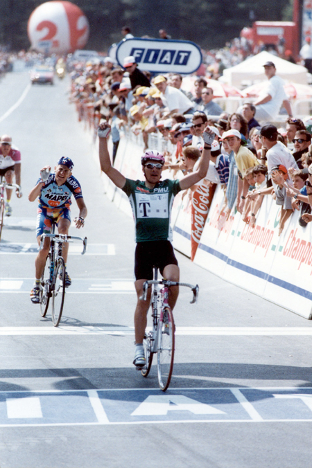 Erik Zabel wins stage 3 of the 1997 Tour de France