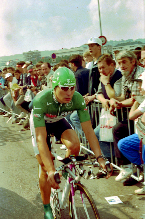Erik Zabel at the 1997 Tour de France prologue