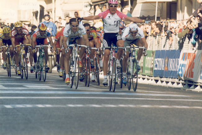 Erik Zabel at the 1998 Milano-San Remo