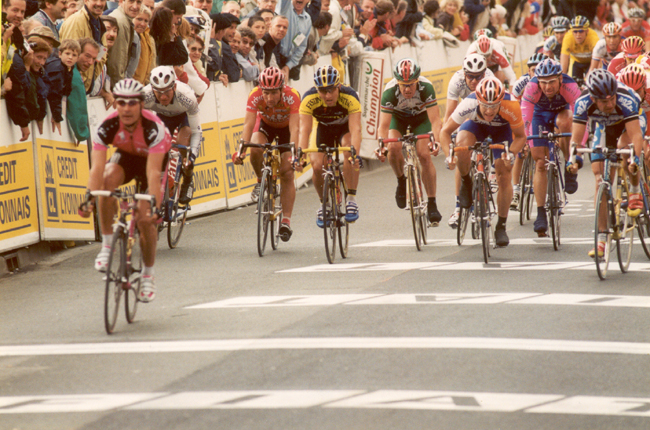 Erik Zabel ins stage 1 of the 2001 Tour de France