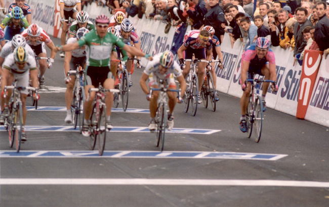 Zabel wins 2002 Tour stage 6