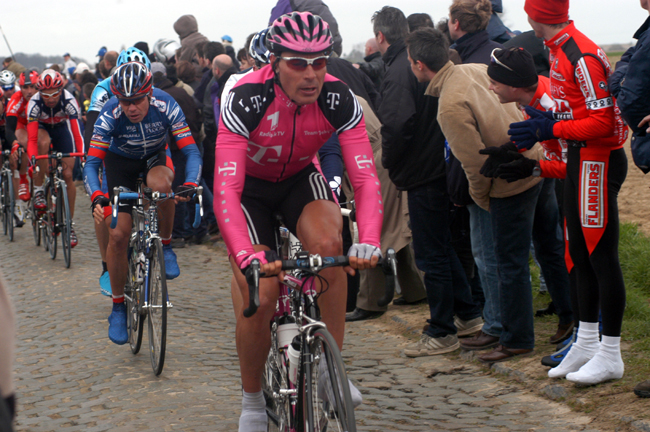 Erik Zabel at the 2003 Tour of Flanders