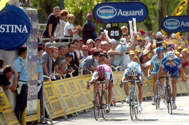 Stage three of the 2004 Tour de France