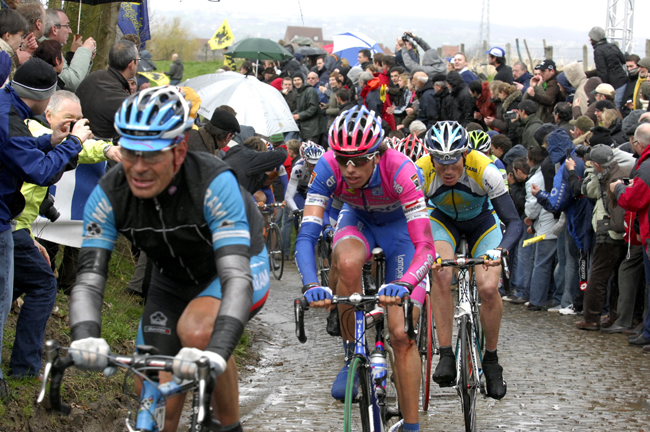 Erik ZAbel at the 2008 Tour of Flanders