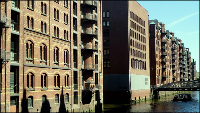 Hamburg warehouse district