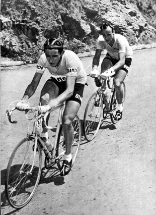 Fauto Coppi and Hugo Koblet