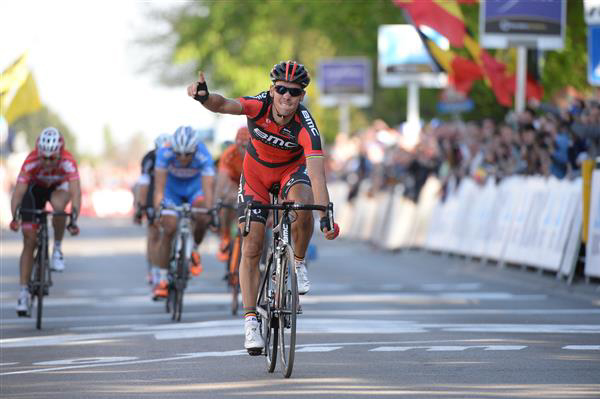 Philippe gilbert wins the 2014 Brabantse Pijl