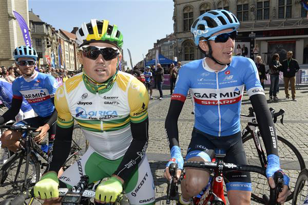 Simon Gerrans and Daniel Martin