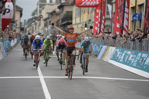 Davide REbellin wins 2015 Coppa Agostoni
