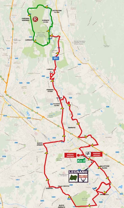 2015 Coppa Bernocchi map