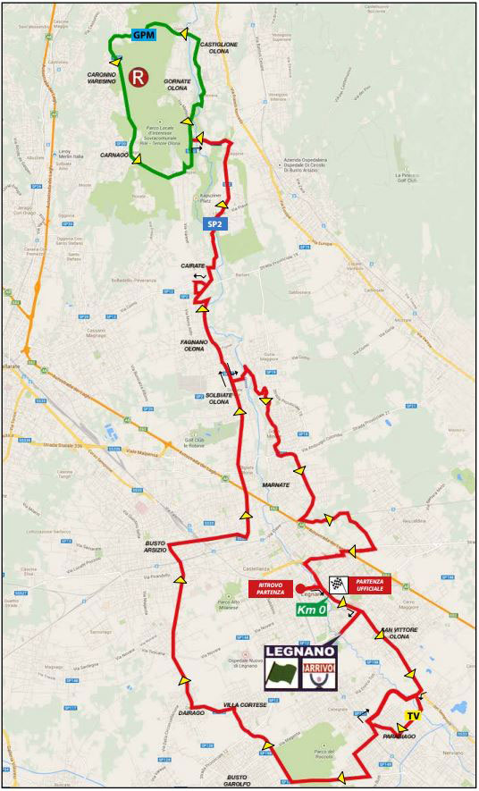 Coppa Bernocchi map