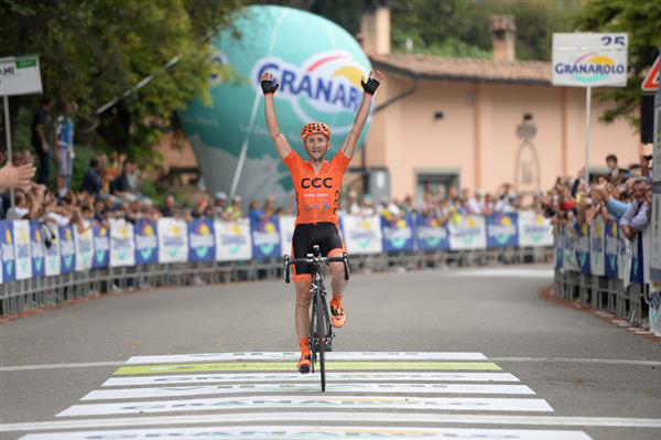 Davide Rebellin wins the 2014 Giro dell'Emilia