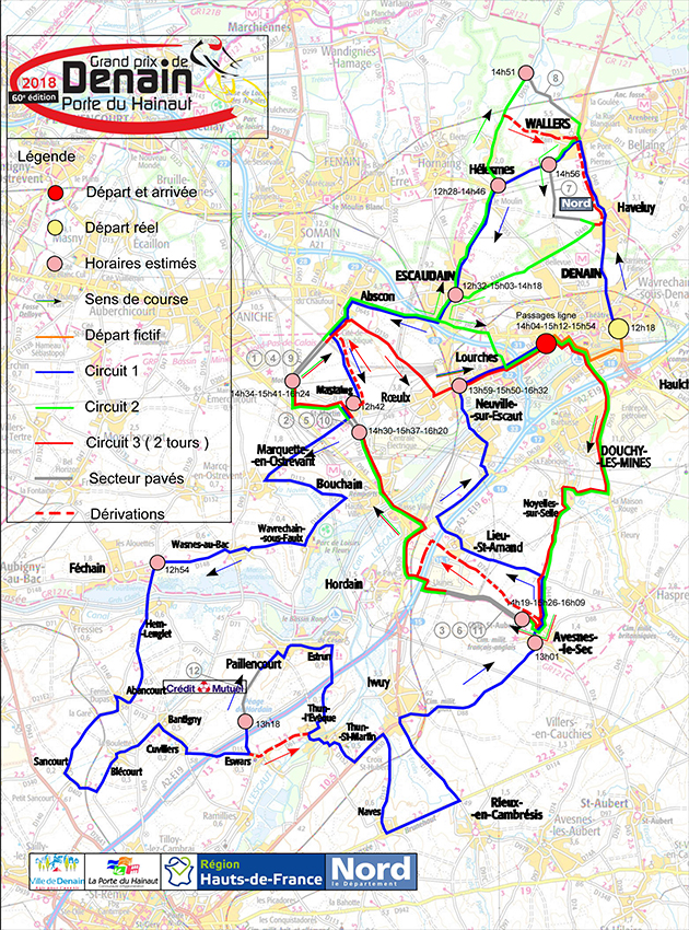 GP de Denain map