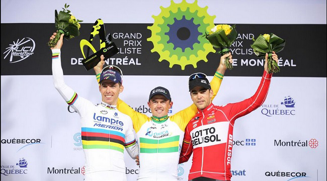 GP Montreal podium