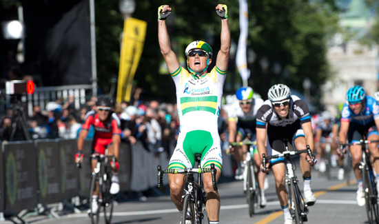 Simon Gerrans wins the 2014 Gp Quebec