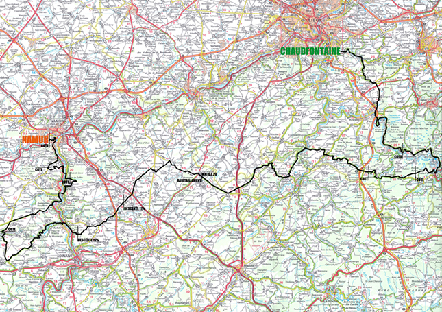 2015 GP Wallonie map and profile