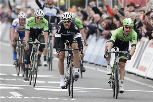 Kuurne finish