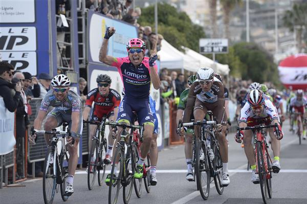 DAvide Cimolai wins the 2015 Trofeo Laigueglia