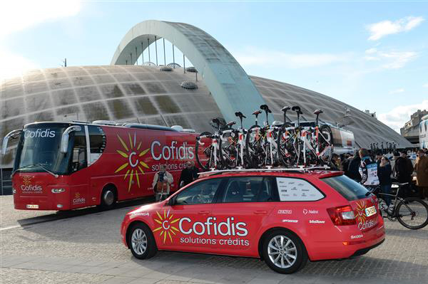 Cofidis equipment