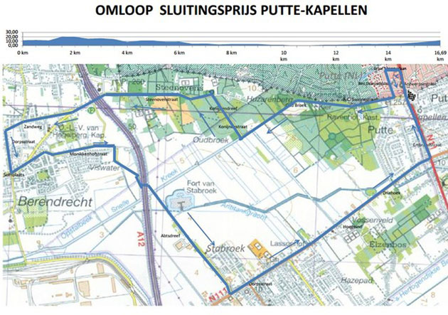 Putte-Kapellen map