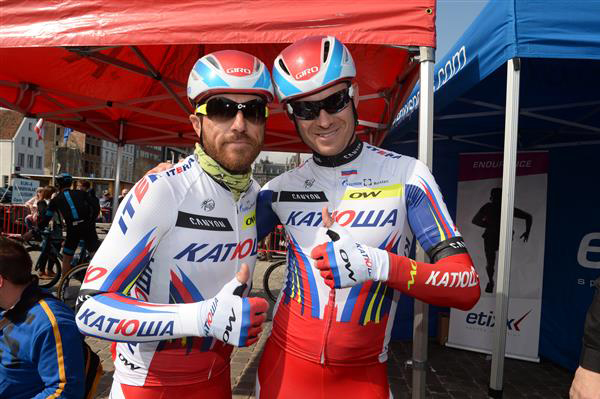 Luca Paolini and Alexander Kristoff