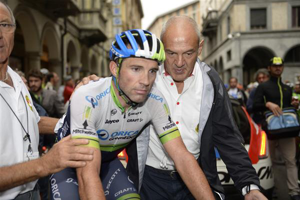 Michael Albasini after the race
