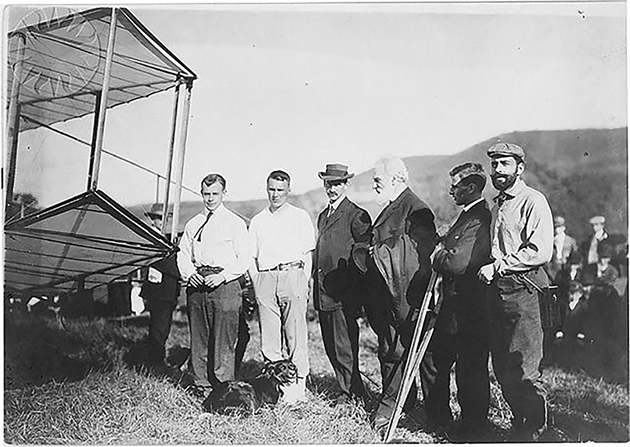 Glenn Curtiss and Alexander Graham Bell