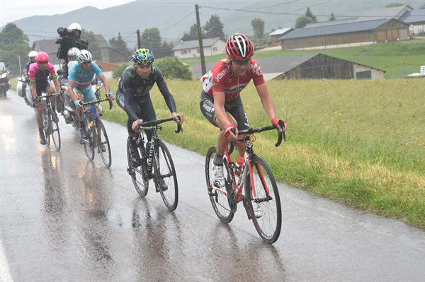 Tony Gallopin leads a break