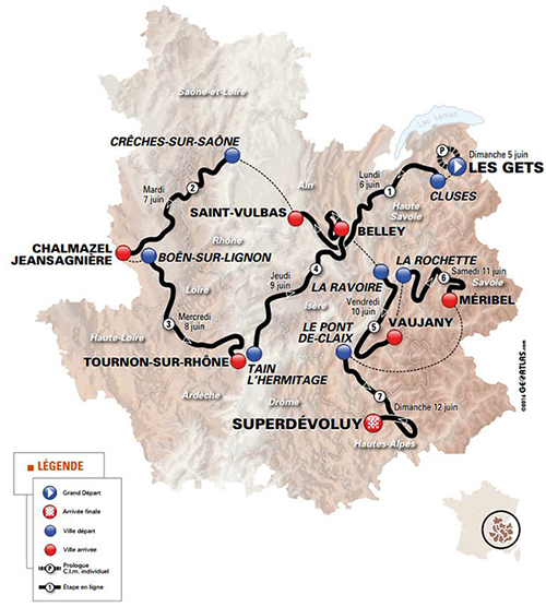Dauphine map