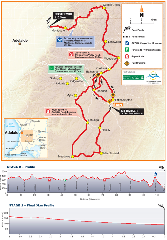 Stage 2 map and profile