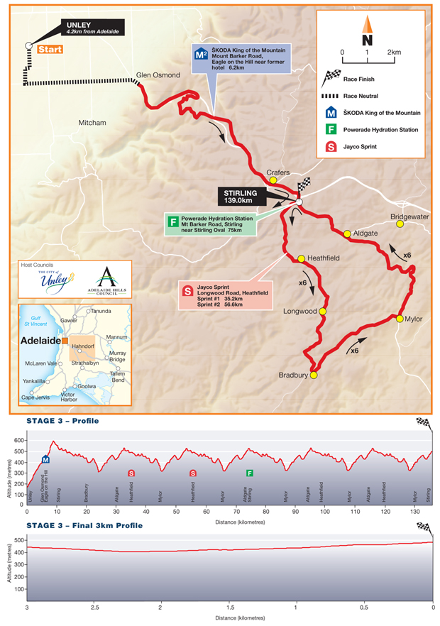 Stage 13 map and profile