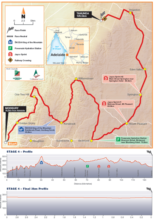 Stage 4 map and profile