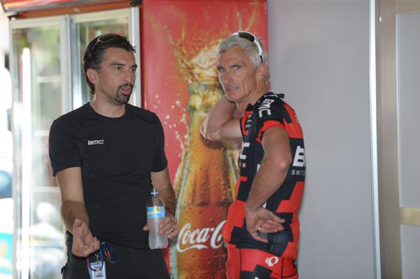 Fabio Baldato and Allan Peiper