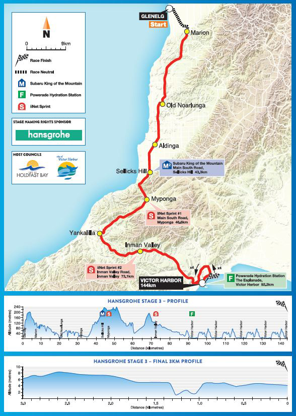 Stage 3 map and profile
