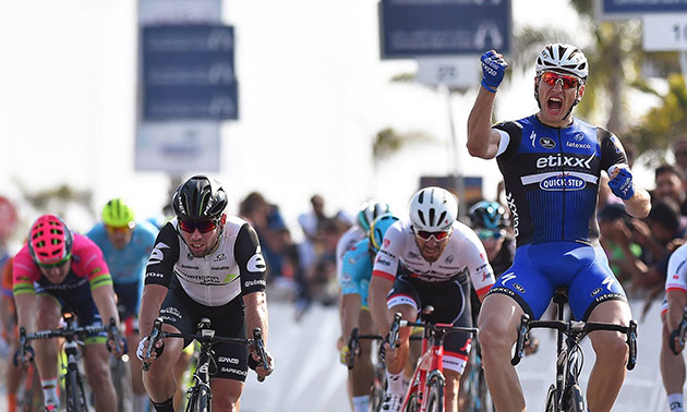 Marcel kittel wins Dubai stage 1