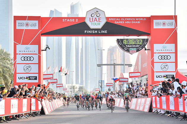 UAE Tour stage two finish