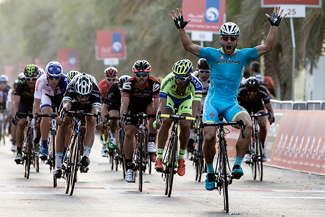 Andrea Guardini wins Abo Dhabi stage 1