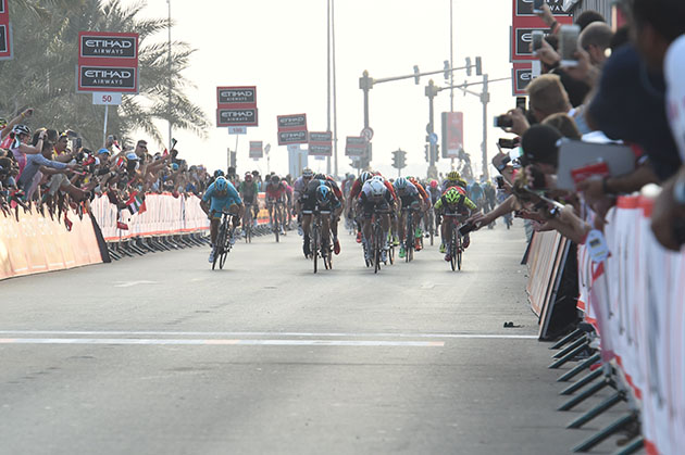 Stage finish