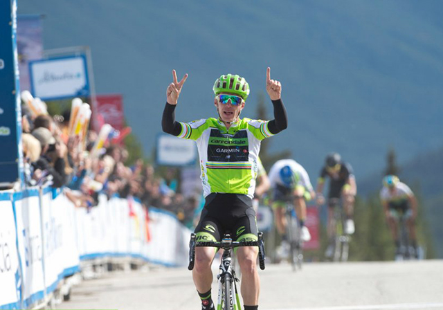 Tom Jelte Slagter wins ALberta Tour stage 4