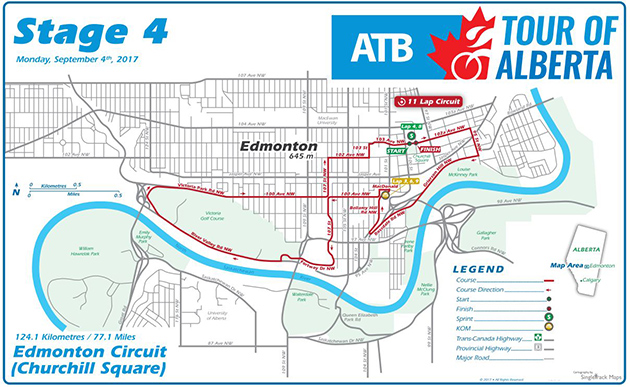 Alberta stage 4 map