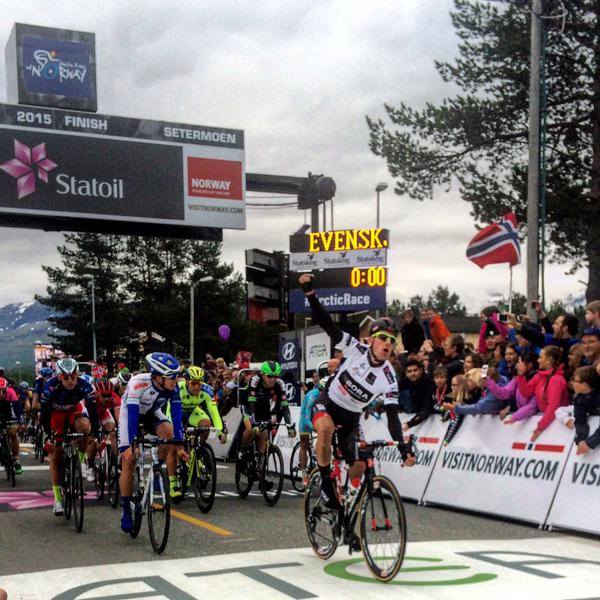 Sam Bennett wins Arctic Race of Norway stage 2