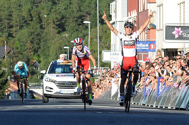 Silvan Dillier wins Arctic Race of Norway stage 4