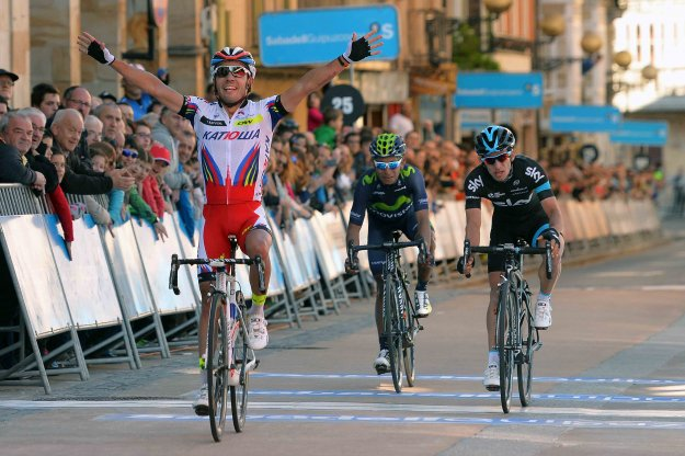 Joaquim Rodriguez wins stage 3