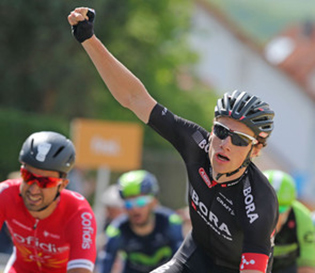 Sam Bennett wins the third stage of the Tour of Bavaria