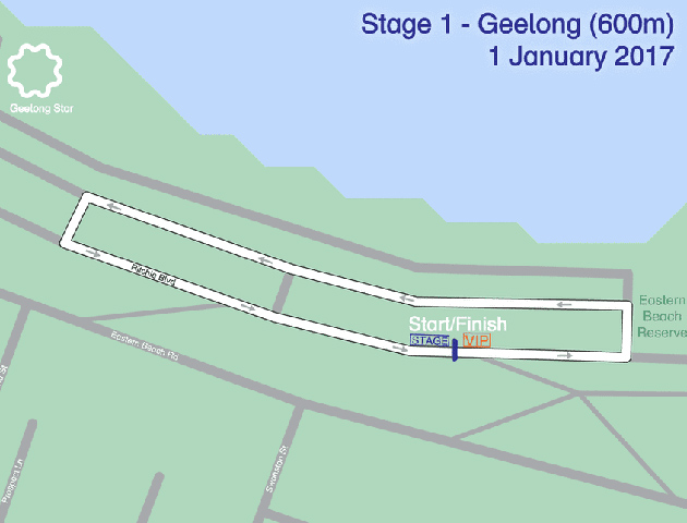 Bay Classic stage 1 map