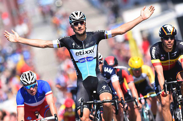Tom Boonen wins stage 2