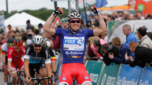 Arnaud Demare wins Tour of Belgium stage 4