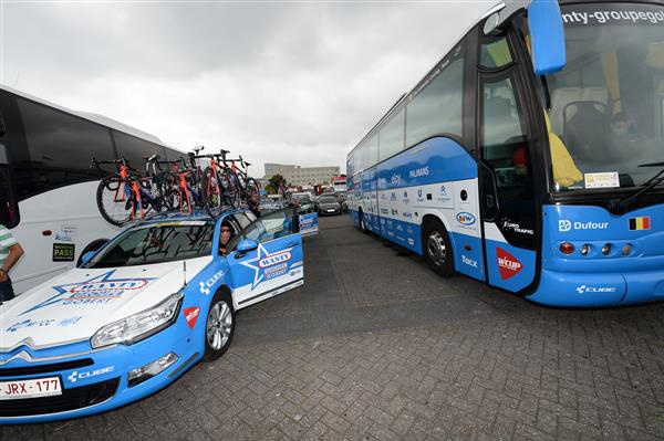 Wanty-Groupe Gobert motorhome