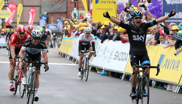Elia Viviani wins Brotain Tour stage 1