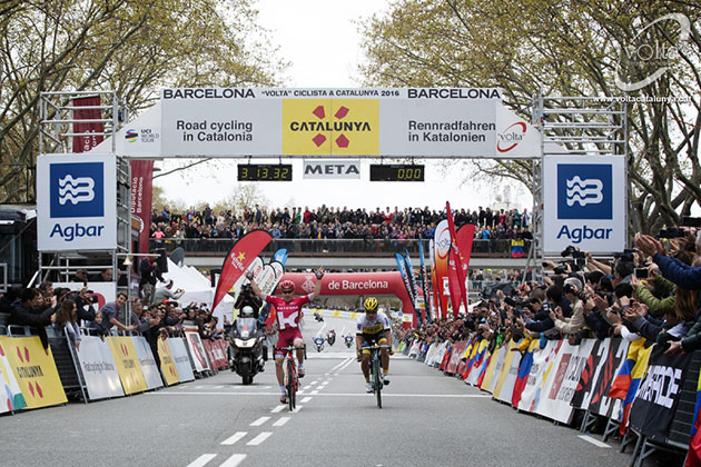 Catalonia stage 7 finish